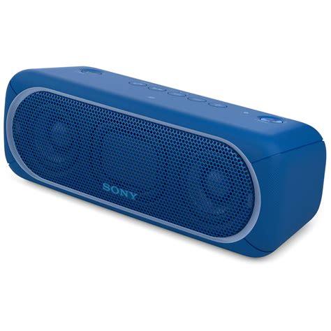 Speaker Wireless Bluetooth Sony Srs Xb30 sony srs xb30 bluetooth speaker blue srsxb30 blue b h photo