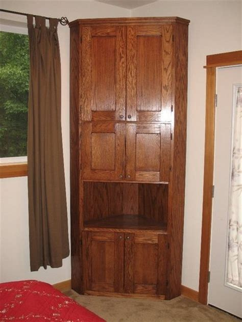 small corner armoire corner armoire by cremar lumberjocks com woodworking community