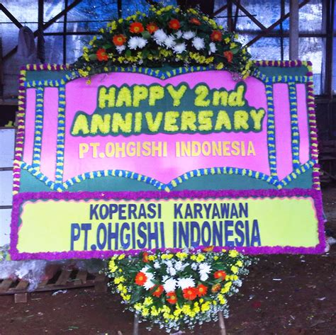 Karangan Bunga Happy Wedding 4 bunga papan selamat sukses ws 029 wulansari florist toko bunga bekasi