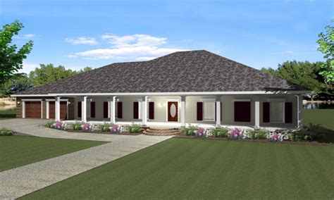 One Story Floor Plans With Wrap Around Porch | one story house plans with wrap around porch one story
