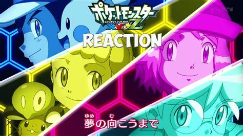 anime xyz pokemon xyz anime opening 1 reaction best opening to a