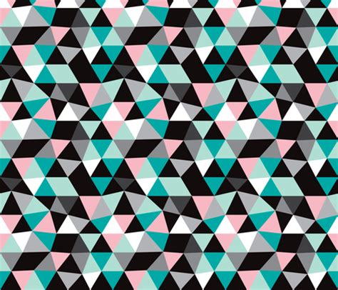 geometric pattern material pastel modern geometric triangle pattern large fabric
