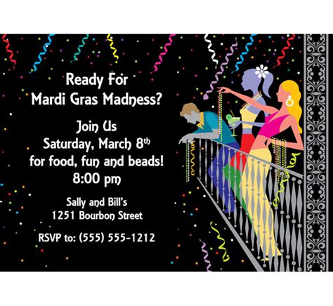 mardi gras table place card free template mardi gras invitations theruntime