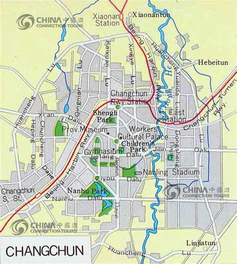 changchun map changchun city map changchun map changchun travel guide