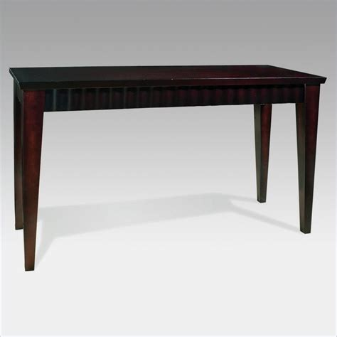 espresso sofa table steve silver company burton espresso sofa table bu100s