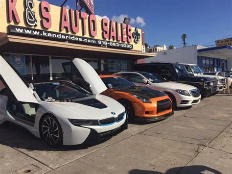 a a auto sales k s auto sales inc san diego ca 92103 car dealership