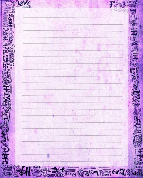 printable digital journal printable journal page faith hope love word art pen and