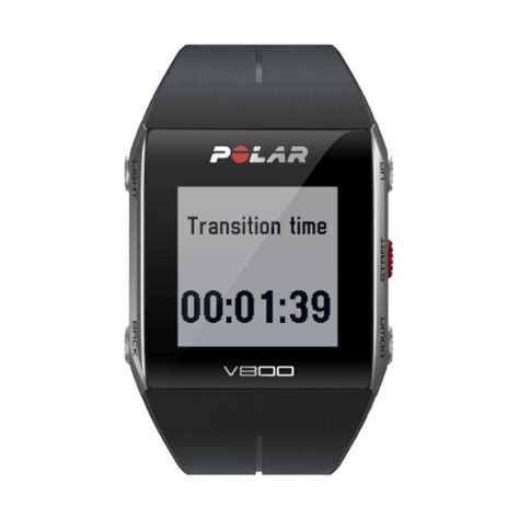 polar v800 gps sports with rate monitor black