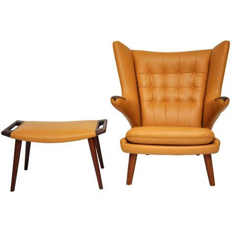 papa chair by wegner hans wegner papa chair and ottoman
