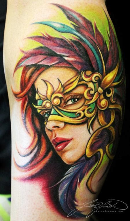 mardi gras tattoos mardi gras by s 228 de sonck tattoonow