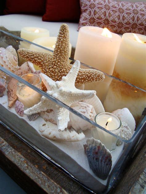 seashell decorations home festive seashell decorations hgtv