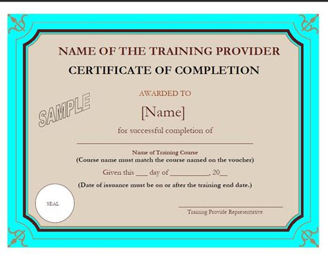 sle certificate format for computer course gallery