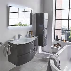 meuble sdb castorama meuble de salle de bains gris 104 cm vague castorama