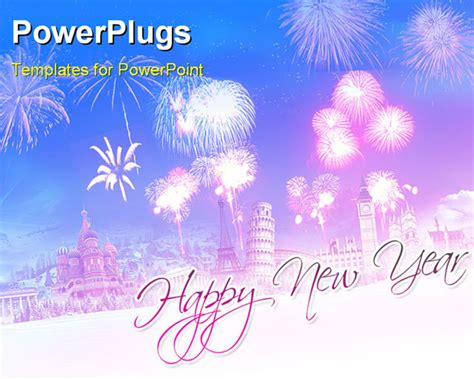 new year wishes template new year greetings powerpoint template background of