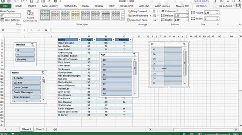 excel tutorial 2013 pivot table excel pivot table insert slicer greyed out table slicers