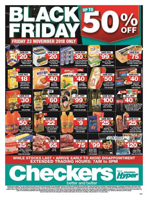 checkers black friday  catalogue specials