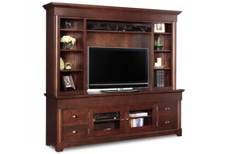 hudson valley  tv stand  hutch solid wood furniture