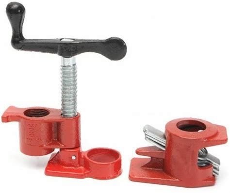 clamps wood gluing pipe clamp set woodworking
