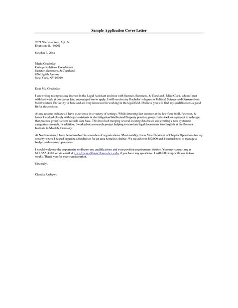 Apa Cover Letter Format by Apa Cover Letter Exle The Best Letter Sle