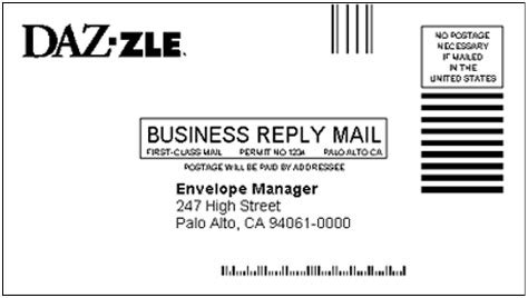 usps business reply mail template understanding fim facing identification marks on