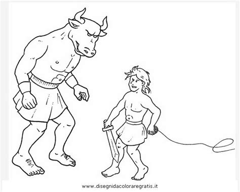 Fantasia Mostri Minotauro Jpg Car Pictures Minotaur Coloring Pages