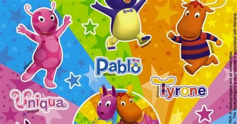 Backyardigans What Of Animals Are They What Are Names Of The Backyardigans Cheap Backyardigans