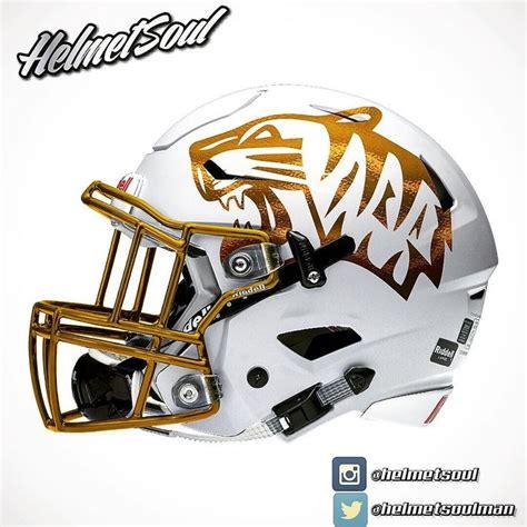 College Football Aufkleber Auf Helm by Broken Arrow High School Tigers In Broken Arrow Ok