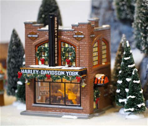 department 56 snow village quot harley davidson york pa