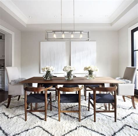 Images of modern dining rooms