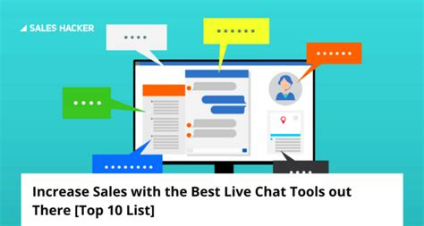 best chat software top 10 best live chat software solutions to increase sales