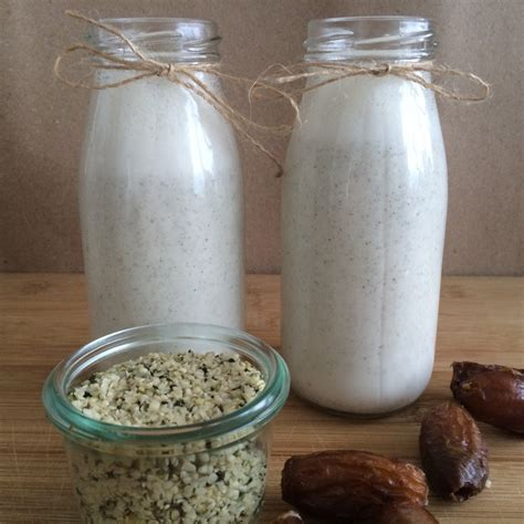 Hemp Milk And Hemp by Awesome And Easy Hemp Milk Recipe You Can Do At Home