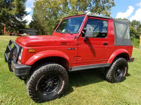 1990 Suzuki Samurai by 1990 Suzuki Samurai Jl Sport Utility 2 Door 1 3l For Sale