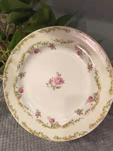 shabby chic china plate made in japan