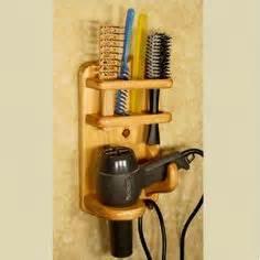 Diy Wood Hair Dryer Holder hair dryer bathroom caddy flat iron curling iron hair dryer brush holder flats bath caddy and