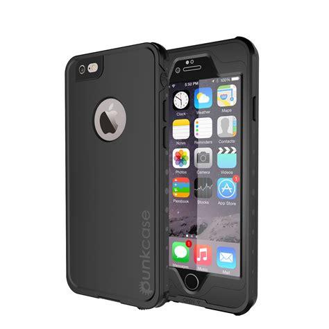 iphone 6 6s plus meatllic waterproof cases