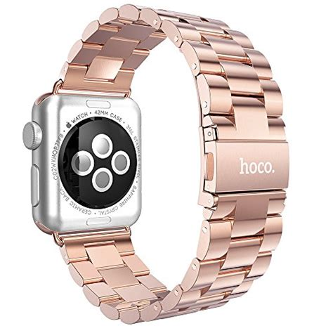 Hoco 3 Pointer Style Stainless Steel Band For Apple 38mm Serie 1 samsung gear s2 classic band v moro white replacement