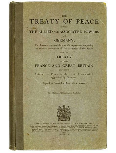 Germany After World War 1 Essay by Treaty Of Versailles S S