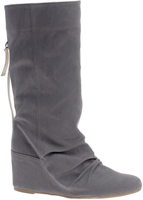 Trend Alert Slouchy Boots by Trend Alert Mid Calf Boots Popsugar Fashion