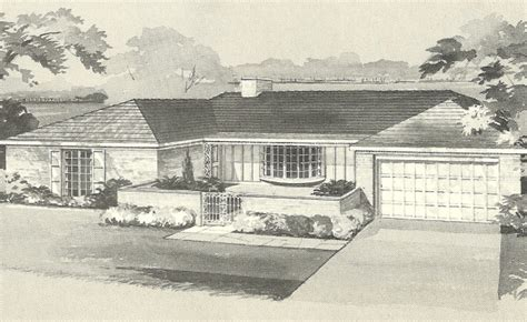 1960s ranch house plans vintage house plans 1960s brick veneers and angled homes