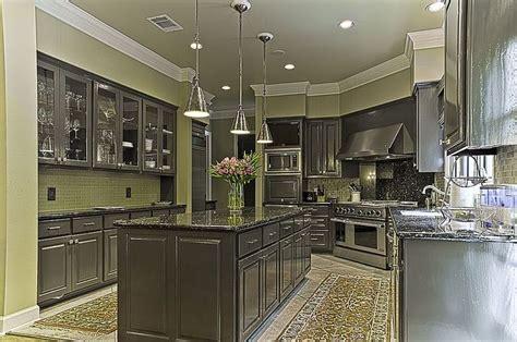dark gray kitchen cabinets dark gray cabinets  green