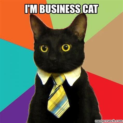 Business Cat Meme Generator - i m business cat