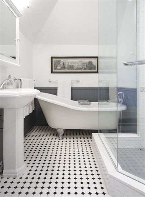 victorian bathroom floor 25 black and white victorian bathroom tiles ideas and pictures