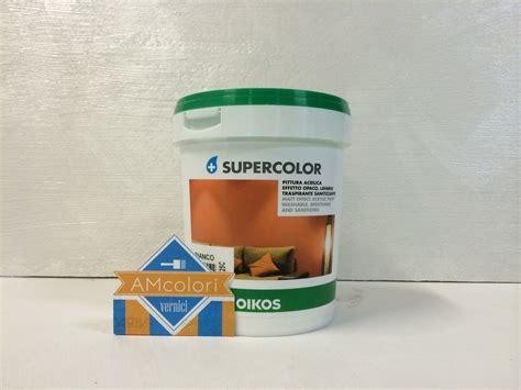 pittura per interni lavabile oikos supercolor vernice pittura murale per interni