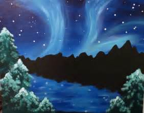 i am going to paint northern lights at pinot s palette memorial city to discover my inner