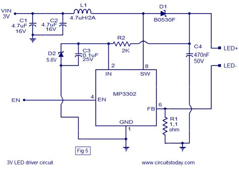 single transistor led driver electronic schematic series circuit get free image about wiring diagram