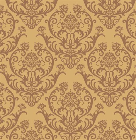 brown pattern for photoshop free seamless brown vintage floral background vector 02