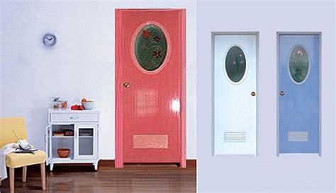 Sale Pintu Pvc Kamar Mandi Polos Warna penjualan rumput hijau pintu panel kaca sisipan