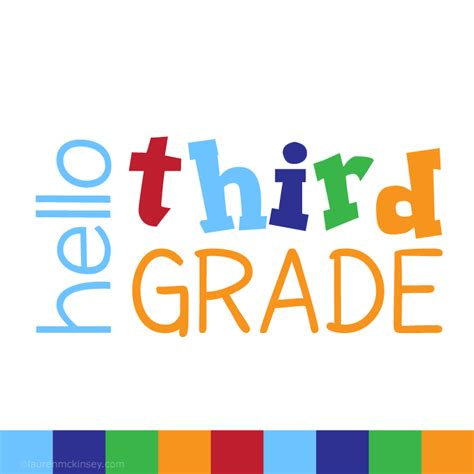 complete collection hello third grade for boys lauren mckinsey printables