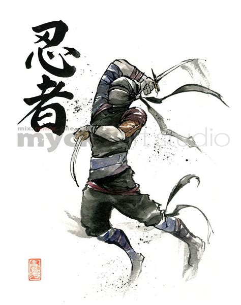 samurai brother vs ninja sister japanese ninja art google search ninja pinterest