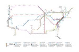 Amtrak Train Map by Project Amtrak Subway Map Cameron Booth